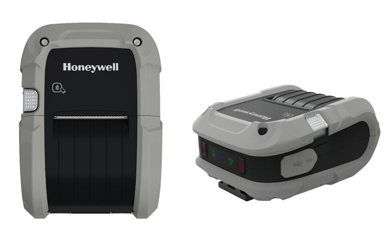 Nueva serie de impresoras móviles Honeywell RP
