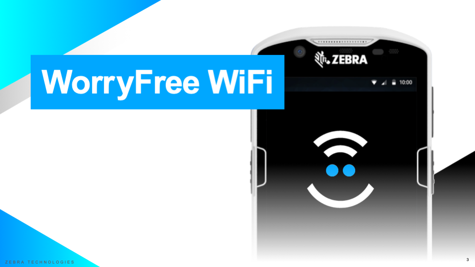 Zebra WorryFree WIFI