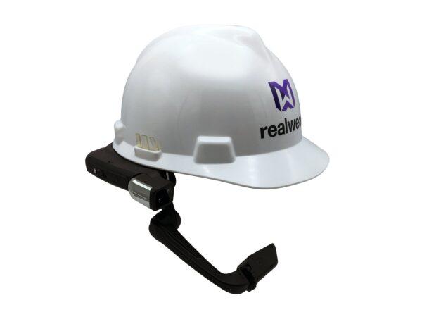 HMT-1 RealWear Hard Hat Clips for MSA Full Brim